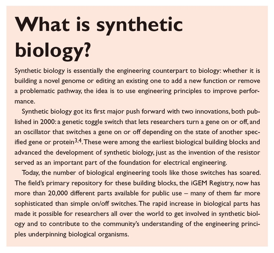Figure 3 What is synthetic biology