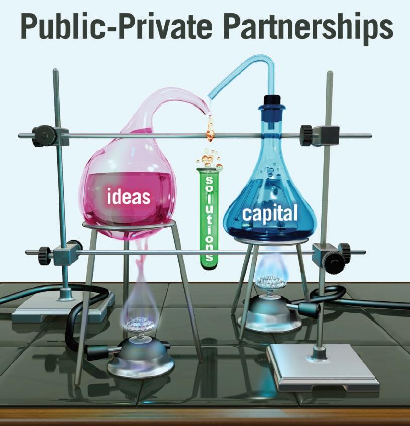 Image 4 Public-Private Partnerships laboratory illustration, ideas, solutions, capital