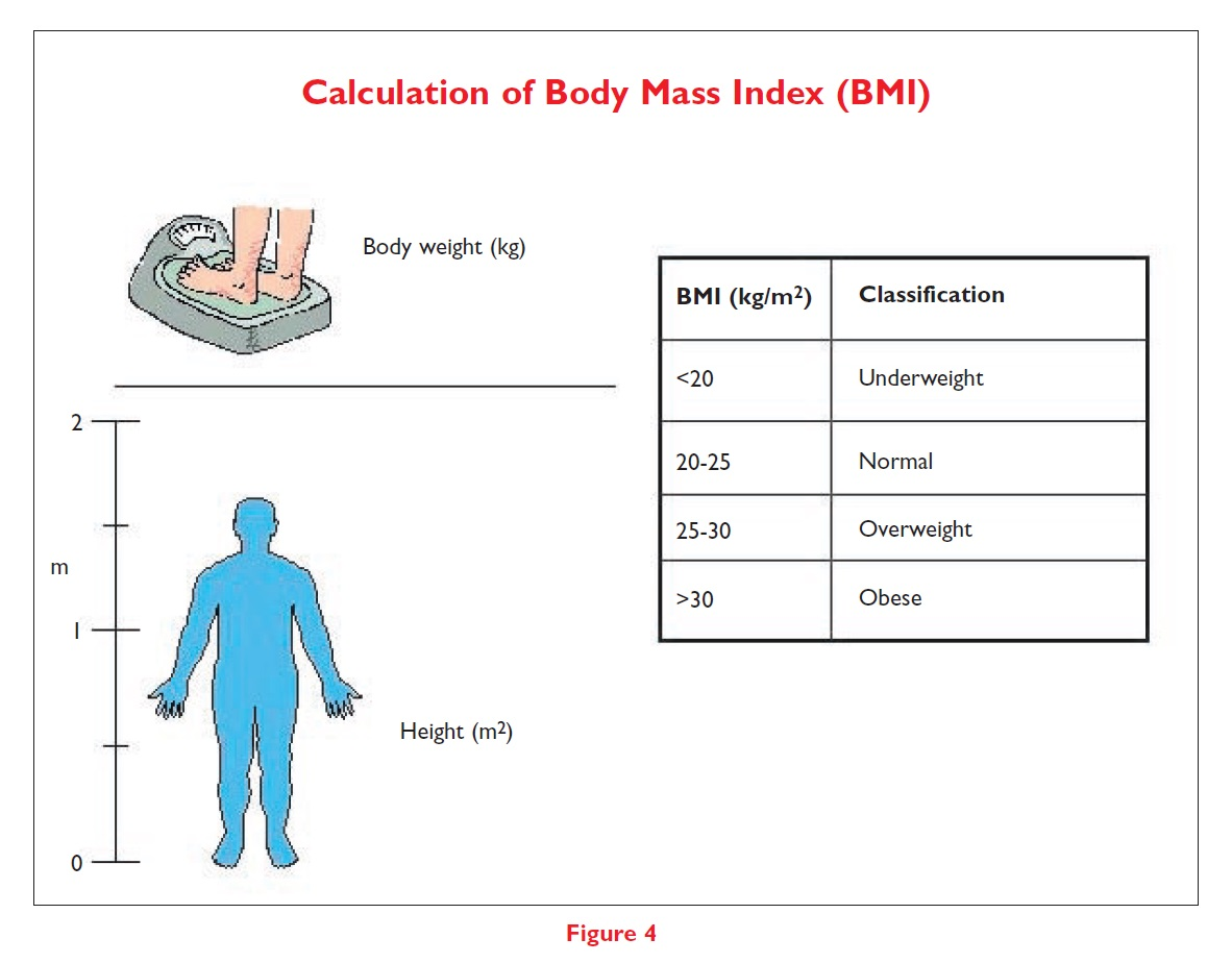 Figure 4 Calculation of Body Mass Index (BMI)