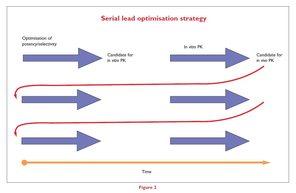 Figure 2 Serial lead optimisation strategy