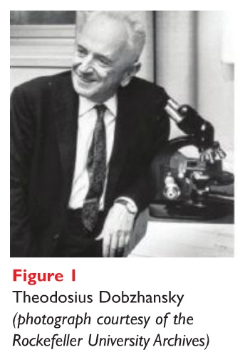 Figure 1 Photograph of Theodosius Dobzhansky