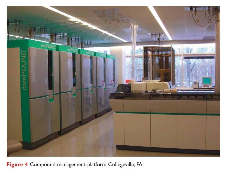 Figure 4 Compound management platform Collegeville, PA