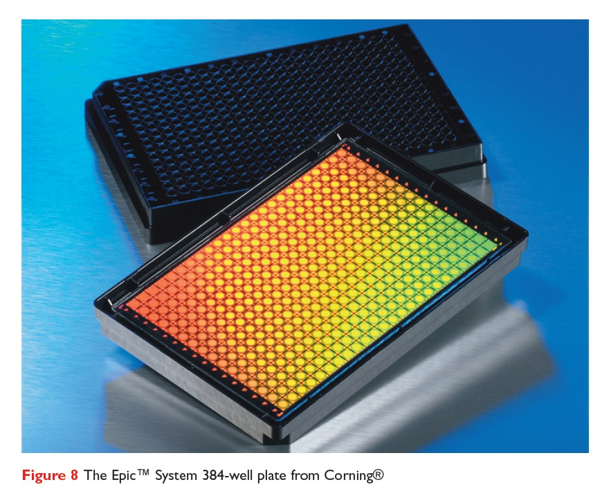 Figure 8 The Epic System 384-well plate from Corning