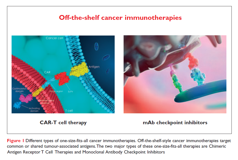 Figure 1 Off the shelf cancer immunotherapies