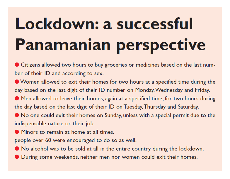 Excerpt 1 Lockdown: a successful Panamanian perspective
