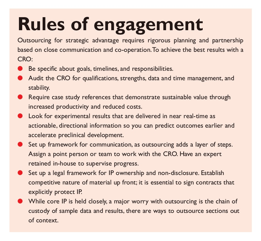 Excerpt 1 Rules of engagement, outsourcing for strategic advantage requires rigorous planning and partnership