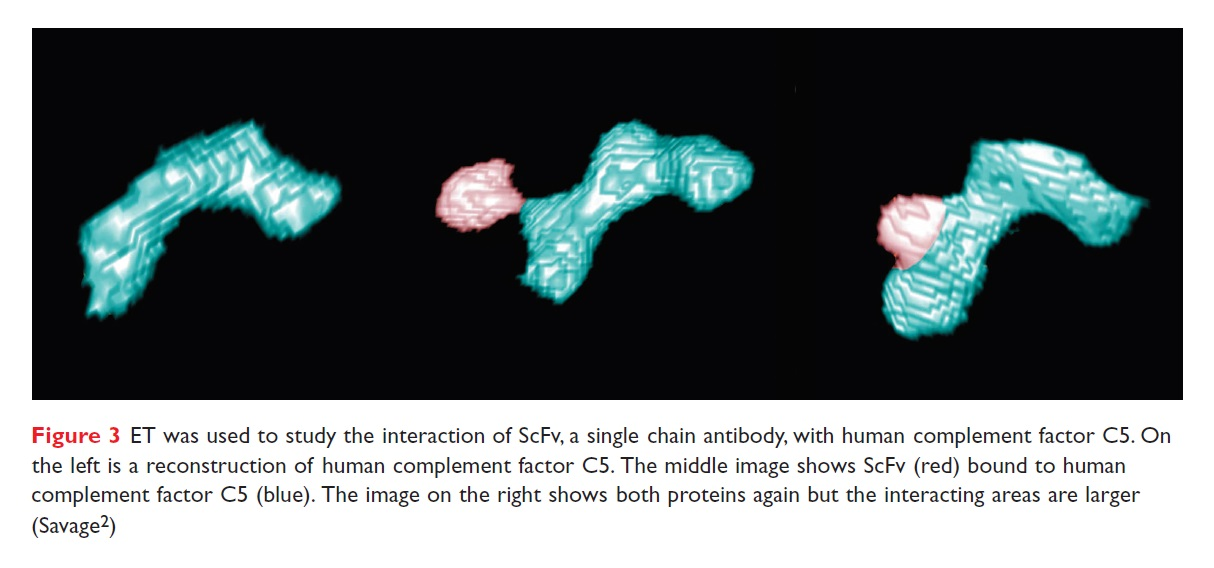 Figure 3 ET was used to study the interaction of ScFv, a single chain antibody, with human complement factor C5