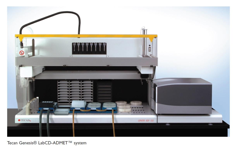 Image 1 Tecan Genesis LabCD-ADMET system