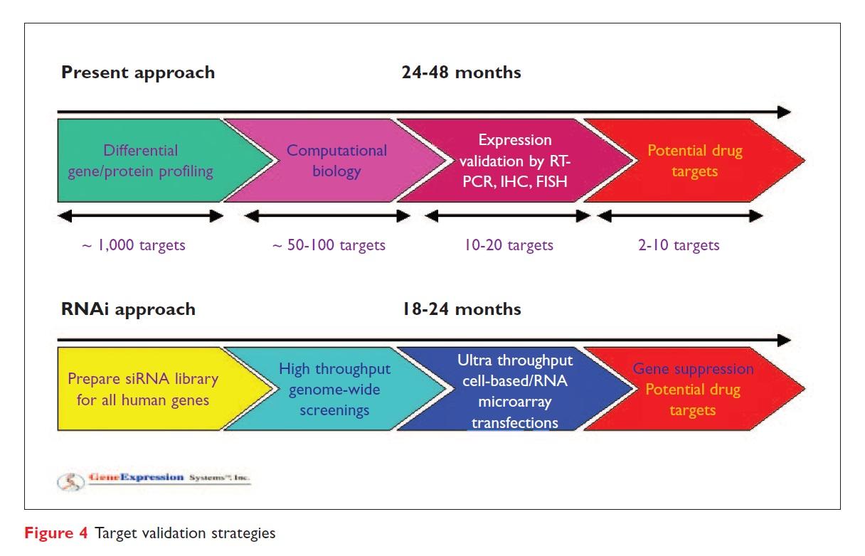 Figure 4 Target validation strategies