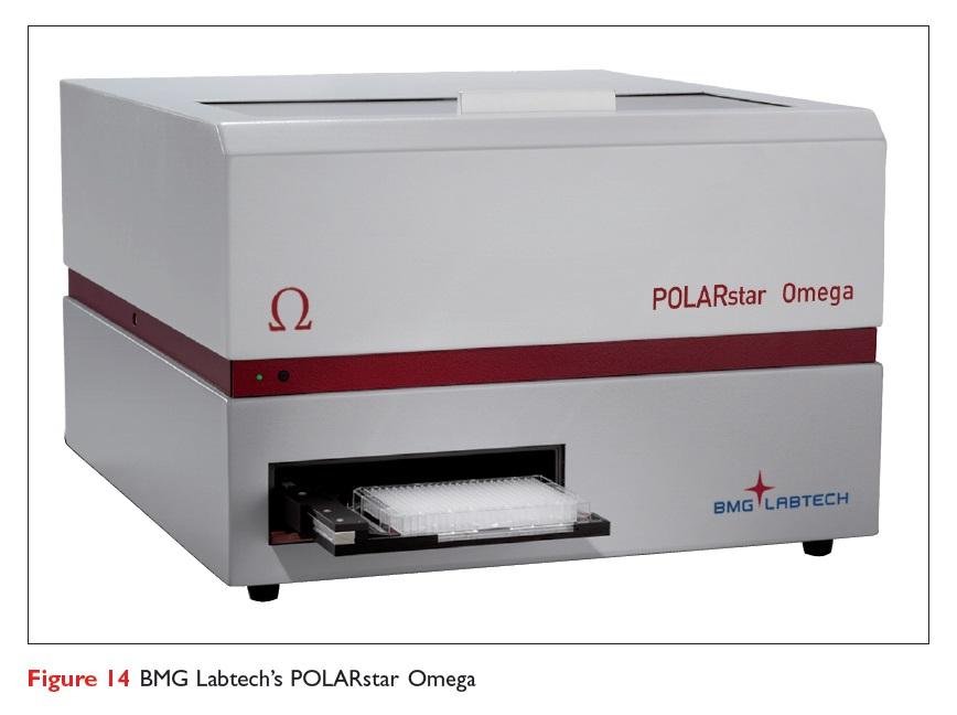 Figure 14 BMG Labtech's POLARstar Omega