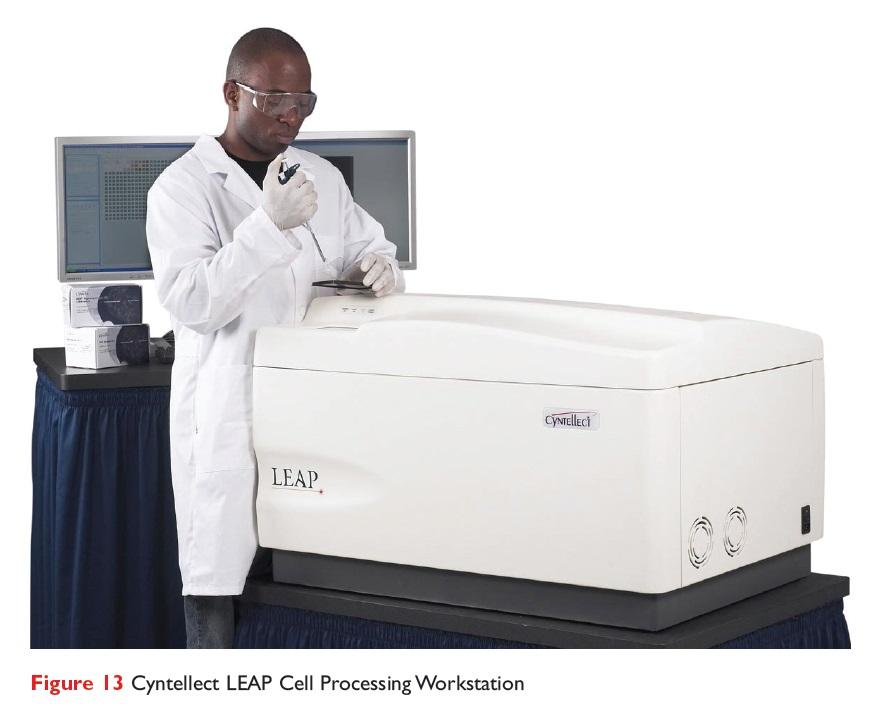 Figure 13 Cyntellect LEAP Processing Workstation
