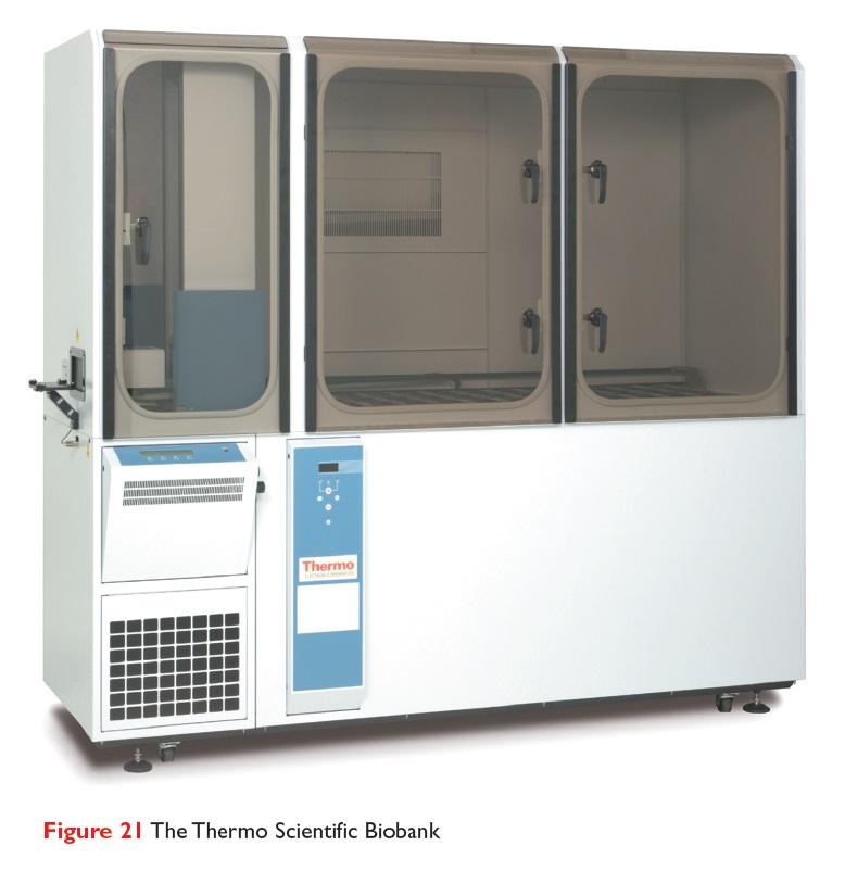 Figure 21 The Thermo Scientific Biobank