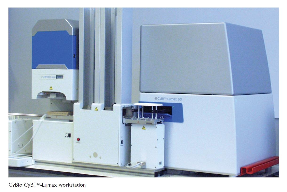 Image 1 CyBio CyBi Lumax workstation