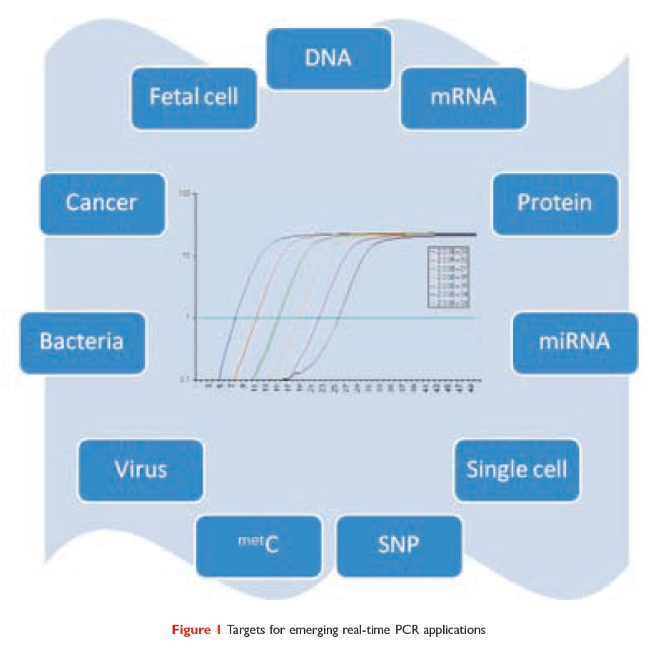 Figure 1 Targets for emerging real-time PCR applications