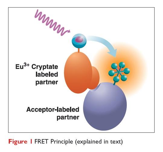 Figure 1 FRET Principle diagram