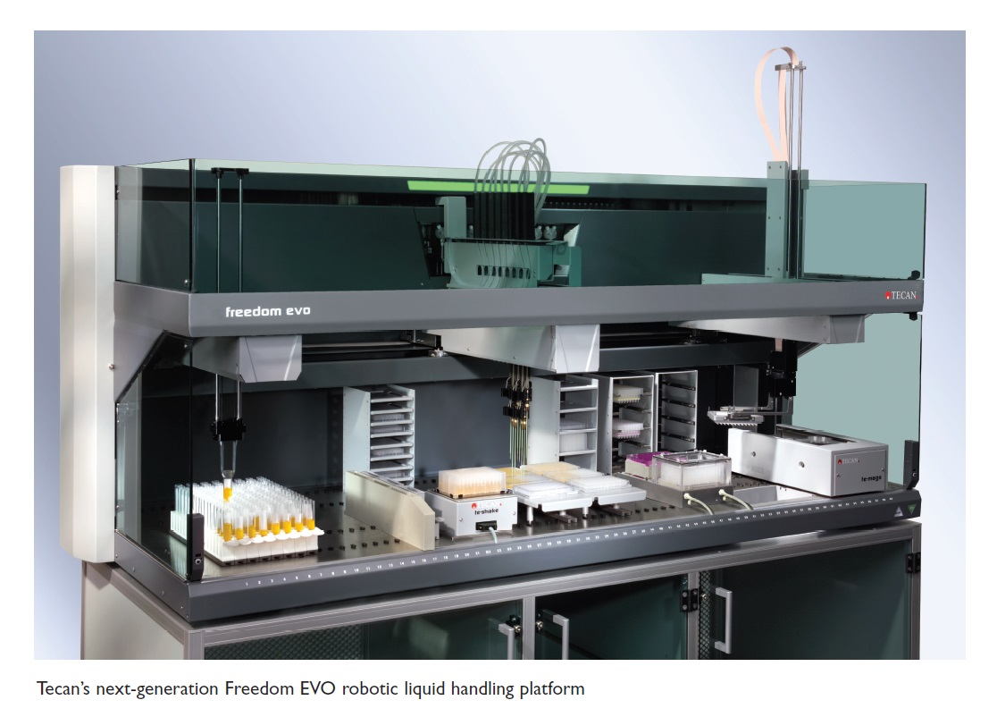 Image 5 Tecan's next generation Freedom EVO robotic liquid handling platform