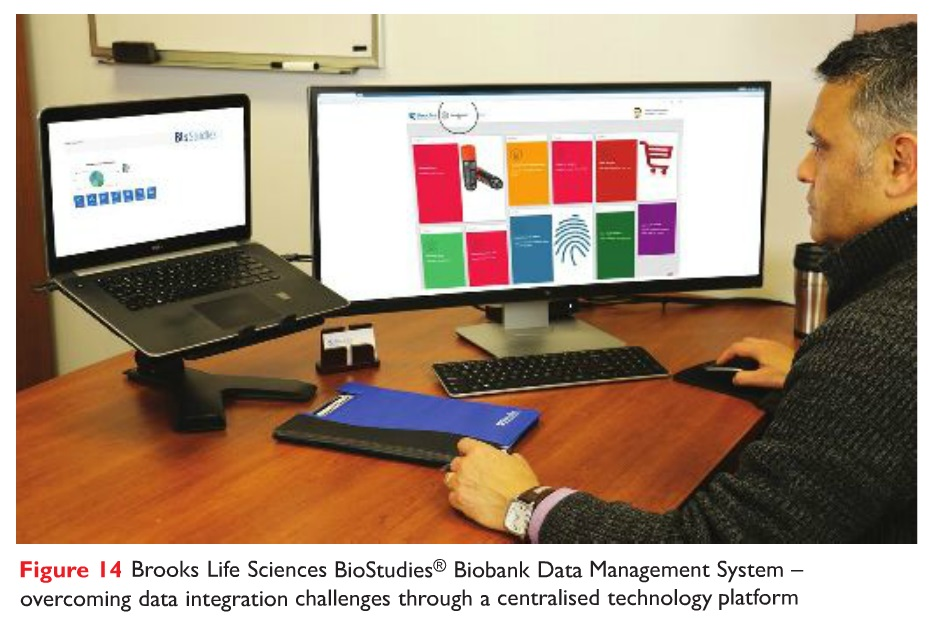 Figure 14 Brooks Life Sciences BioStudies Biobank Data Management System