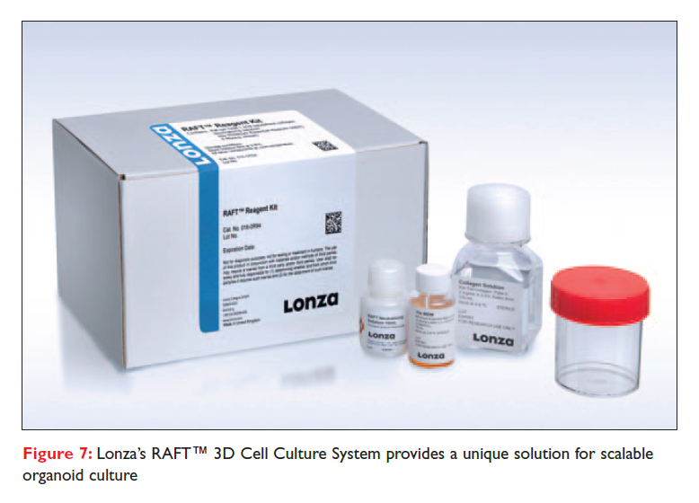 Figure 7 Lonza's RAFT 3D Cell Culture System