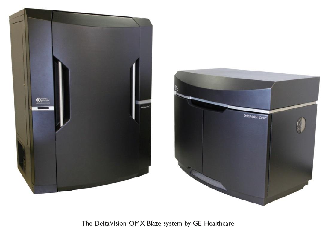 Figure 2 The DeltaVision OMX Blaze system by GE Healthcare