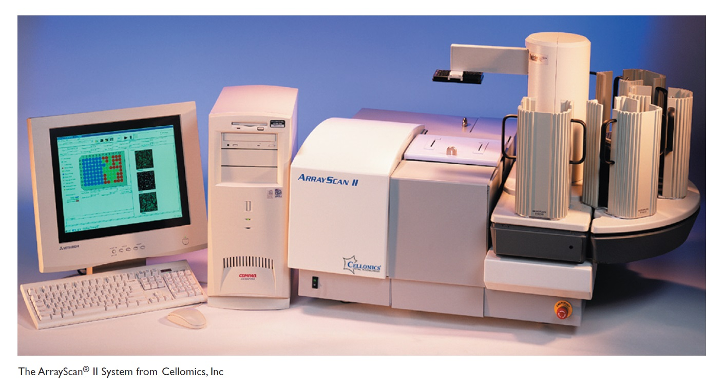 Image 1 The ArrayScan II System from Cellomics, Inc.