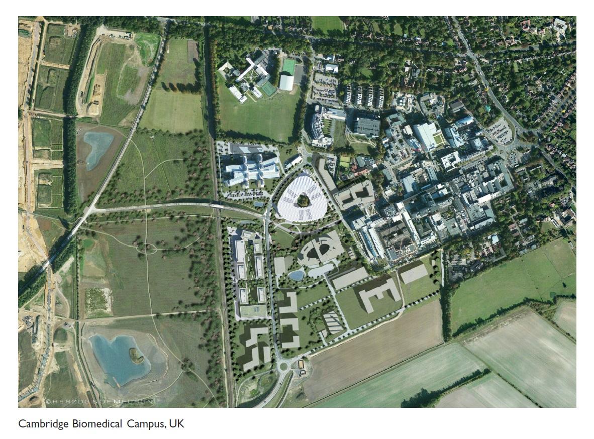 Figure 2 Cambridge biomedical campus, UK
