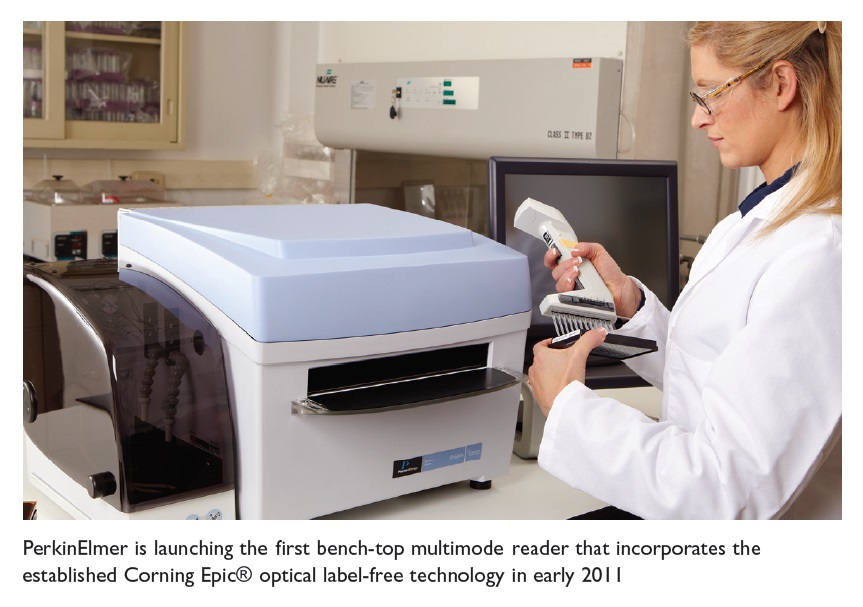 Image 1 PerkinElmer is launching the first bench-top multimode reader that incorporates the established Corning Epic optical label-free technology