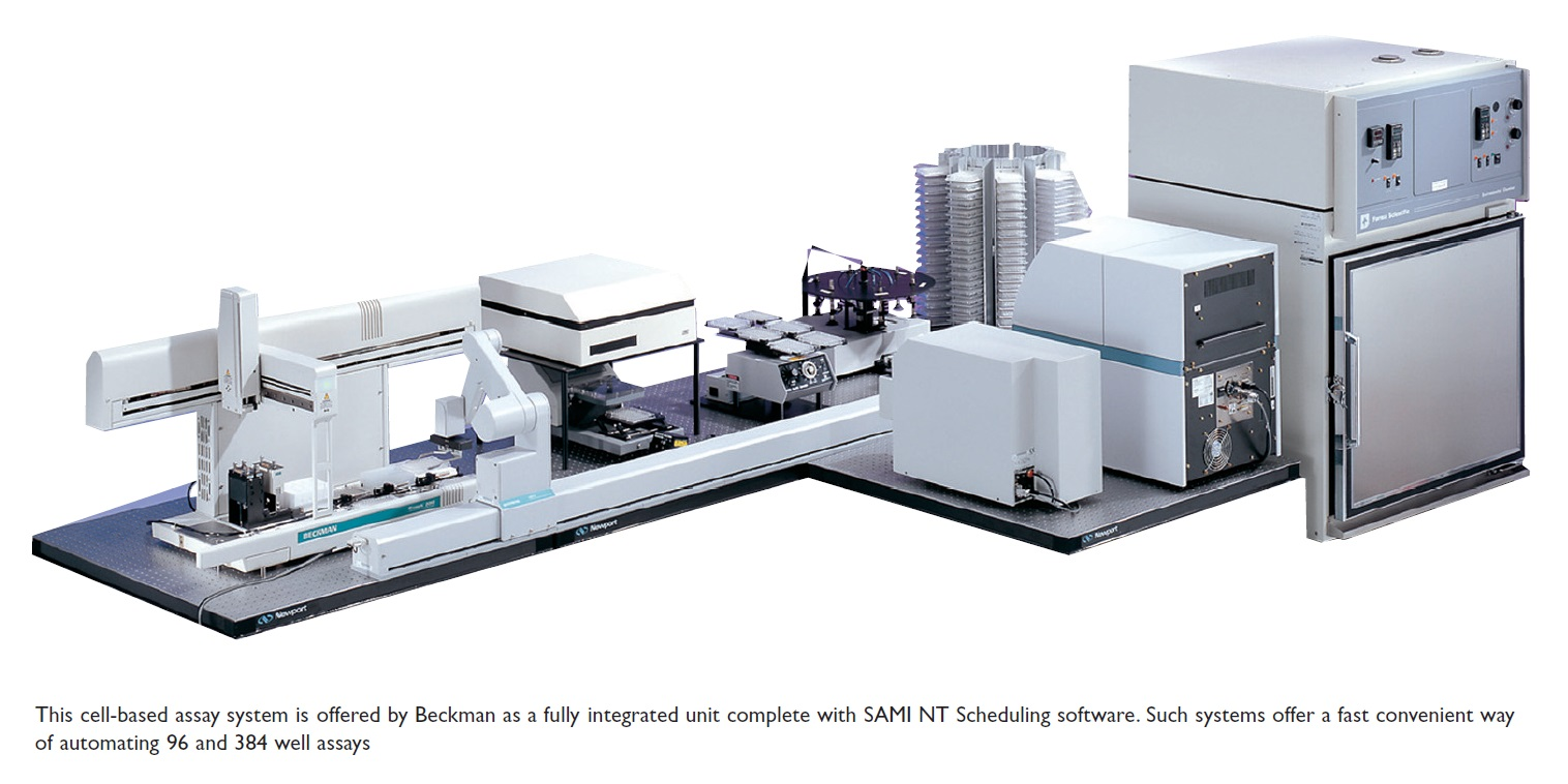 Image 2 Cell-based assay system is offered by Beckman, with SAMI NT scheduling software