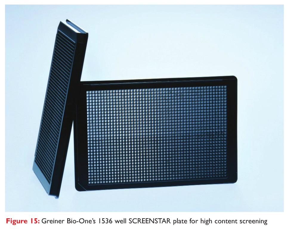 Figure 15 Greiner Bio-One's 1536 well SCREENSTAR plate for high content screening