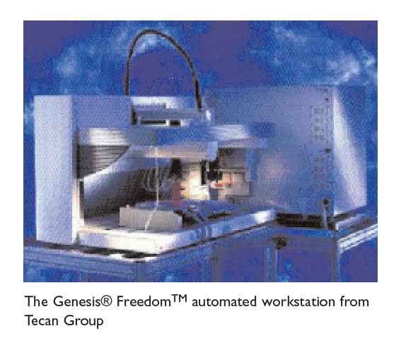 Image 3 The Genesis Freedom automated workstation from Tecan Group