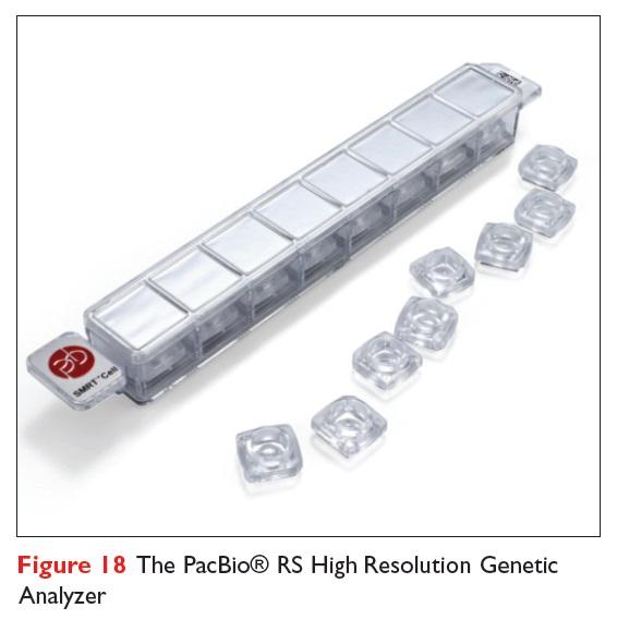 Figure 18 The PacBio RS High Resolution Genetic Analyzer
