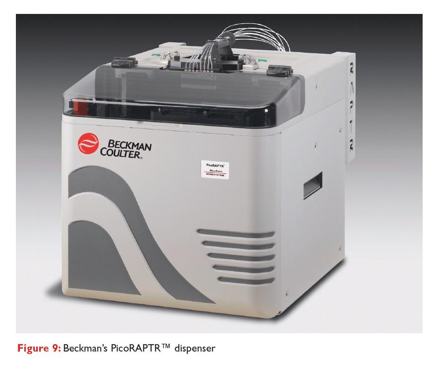 Figure 9 Beckman's PicoRAPTR dispenser