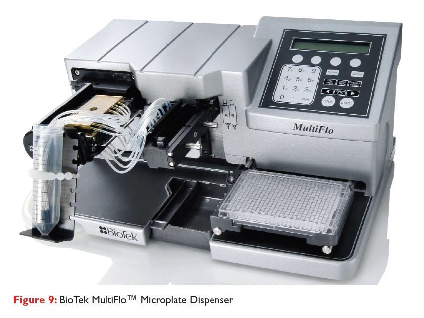 Figure 9 BioTek MultiFlo Microplate Dispenser