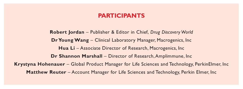 Figure 1 DDW Round Table Participants Immunogenicity Research