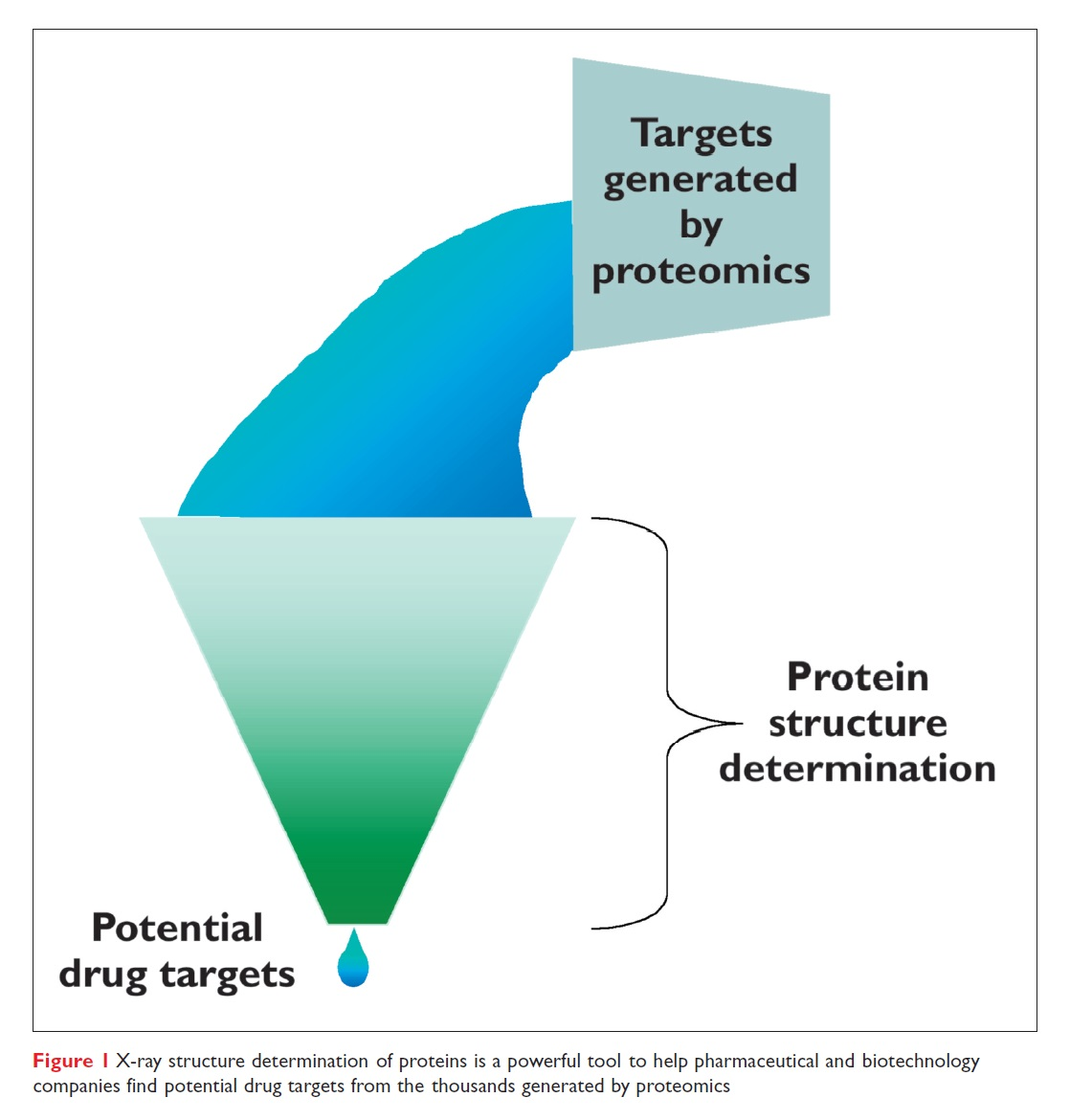Figure 1 X-ray structure determination of proteins is a powerful tool to help pharmaceutical and biotech companies