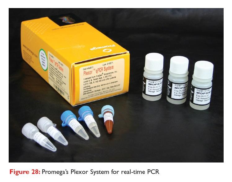 Figure 28 Promega's Plexor System for real-time PCR