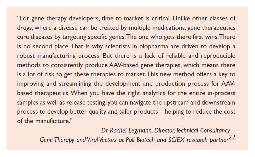 Quote 1 Dr Rachel Legmann, Director Technical Consultancy