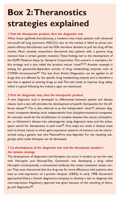Box 2 Theranostics strategies explained