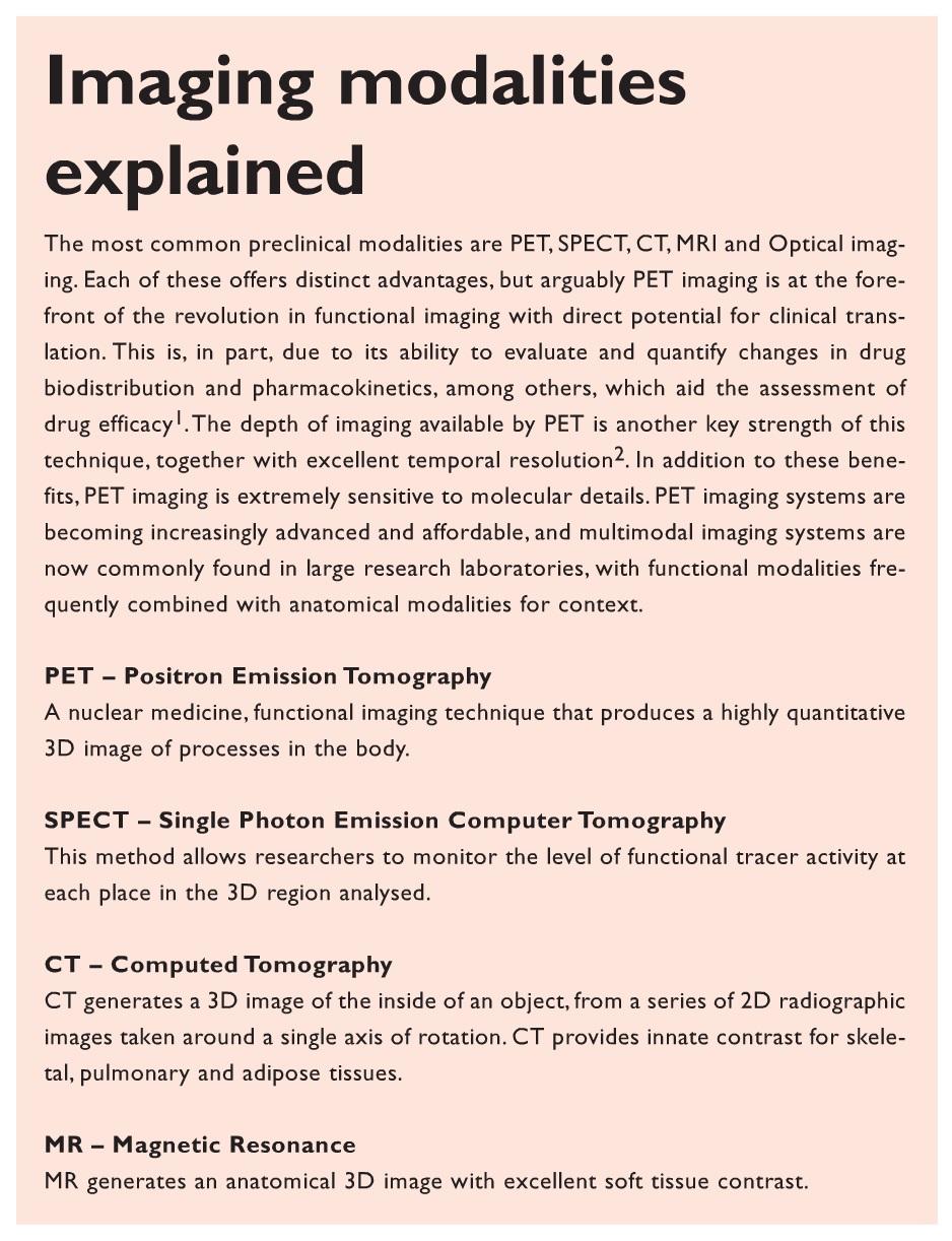 Info Box Imaging modalities explained