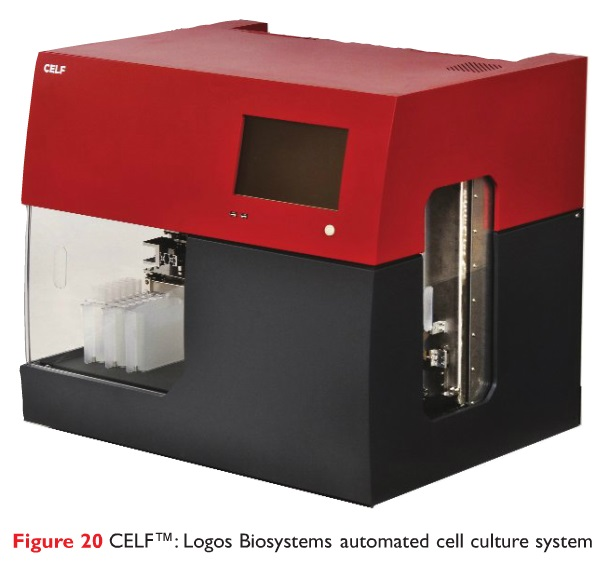 Figure 20 CELF Logos Biosystems automated cell culture system