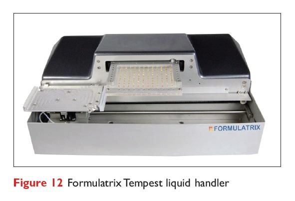 Figure 12 Formulatrix Tempest liquid handler