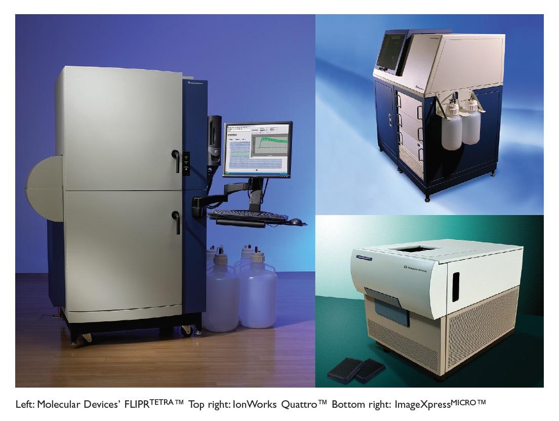Image 19 Molecular Devices FLIPRtetra, IonWorks Quattro and ImageXpressMICRO