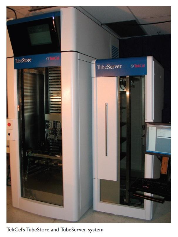 Image 6 TekCel's TubeStore and TubeServer system