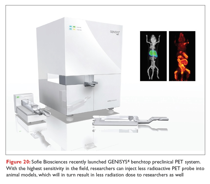 Figure 20 Sofie Biosciences recently launched GENISYS benchtop preclinical PET system