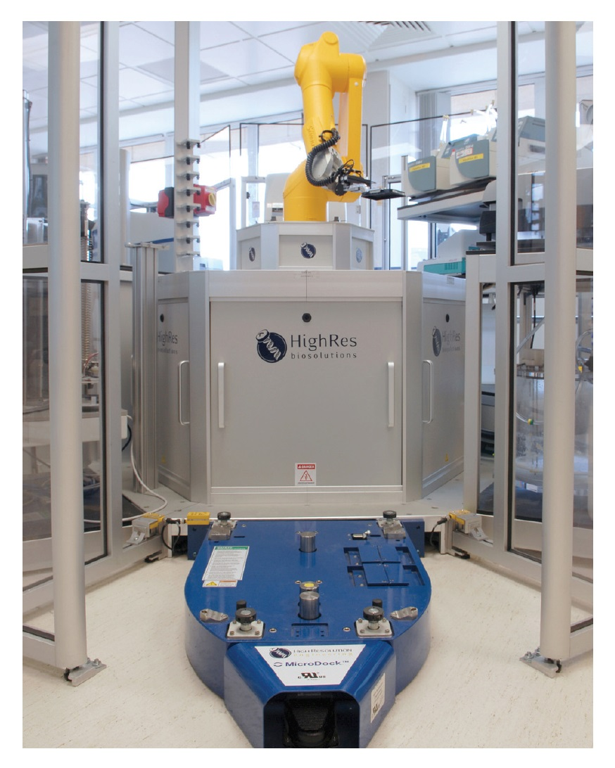 Image 2 Modular automation for screening, HighRes Biosolutions microdock equipment