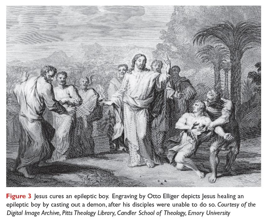 Figure 3 Jesus cures an epileptic boy