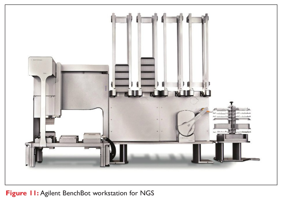 Figure 11 Agilent BenchBot workstation for NGS