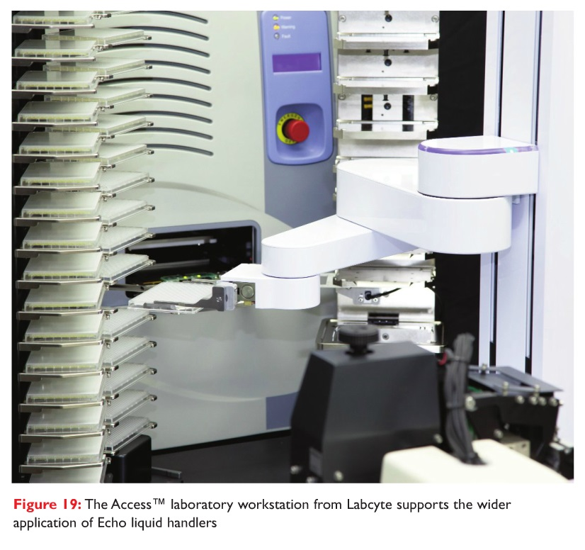 Figure 19 The Access laboratory workstation from Labcyte