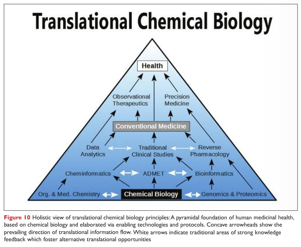Figure 10 Holistic view of translational chemical biolody principles