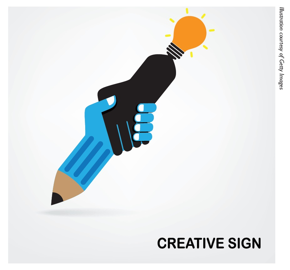 Image 1 Creative sign illustration, reconfiguring drug discovery