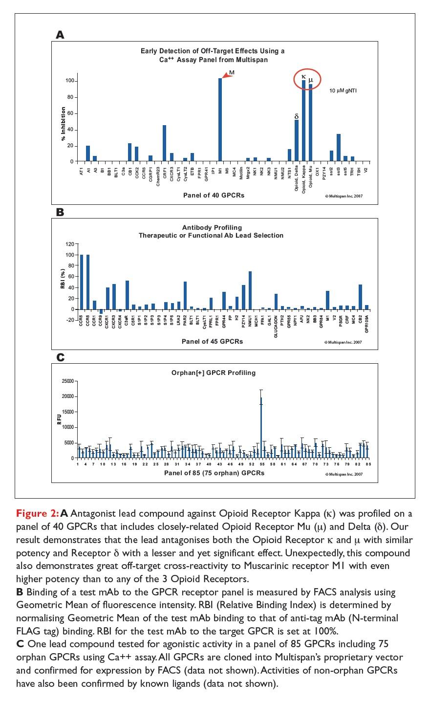 Figure 2 Antagonist lead compound against Opioid Receptor Kappa